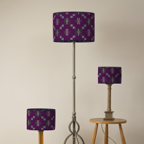 St Davids Cross sloe oval lampshades
