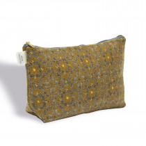 Vintage rose mustard washbag