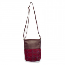 Vintage rose redberry Ronson crossbody bag