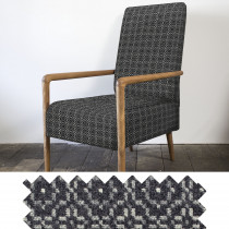 Vintage Rose slate high back chair - swatch