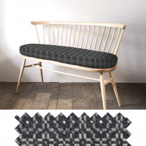 Vintage rose slate loveseat - swatch