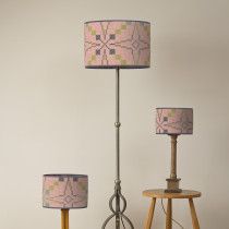 Vintage star blossom oval lampshades