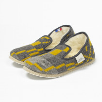 Vintage star gorse slippers