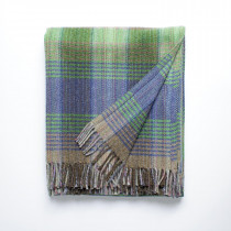 Windfall lagoon throw with fringes