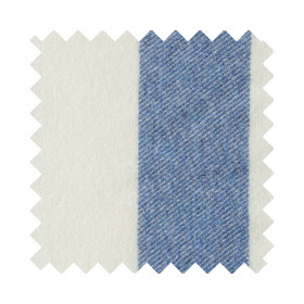 Broadstripe Sample Swatch Blue