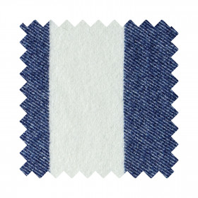 Broadstripe Sample Swatch Indigo