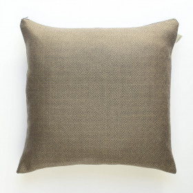 Cambrian wool diamond tweed Cushion Mocha