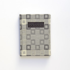 Cambrian wool minimad Notebook Welsh Grey