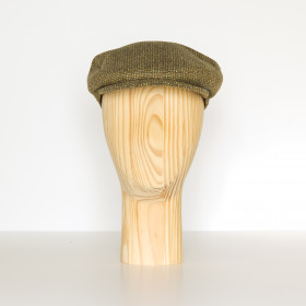 Semiplain Flat Cap Gold