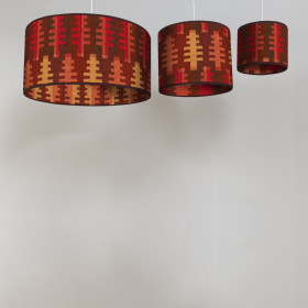 Forest Circular lampshade Autumn