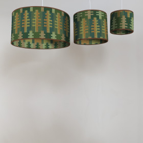 Forest Circular lampshade Summer