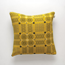 Knot-Garden Cushion Gorse