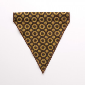 Halo Dog bandana - small to large Ochre