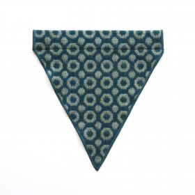 Halo Dog bandana - small to large Teal