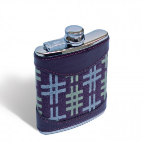 Hashtag Hip flask 6oz Aubergine