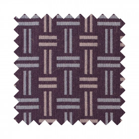 Hopsack Sample swatch Clay