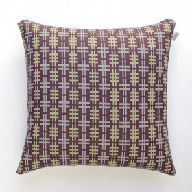 Hashtag Cushion Aubergine