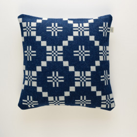 St Davids Cross Cushion Indigo