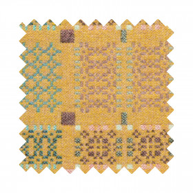 Knot Garden Sample Swatch Blossom
