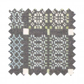 Knot Garden Sample Swatch Bluestone