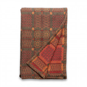 Knot Garden throw & blankets Copper