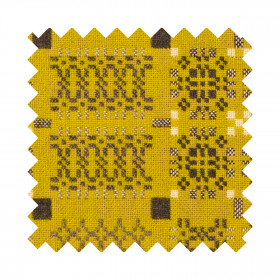 Knot Garden Sample Swatch Gorse