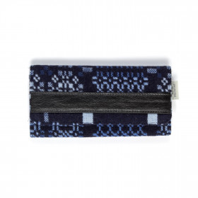 Knot Garden Ladies wallet Indigo