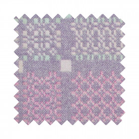 Knot Garden Sample Swatch Lilac