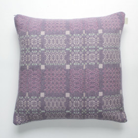 Knot-Garden Cushion Lilac