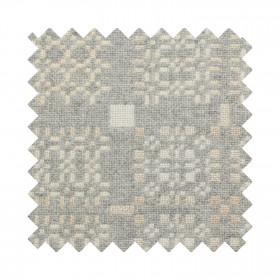 Knot Garden Sample Swatch Silver