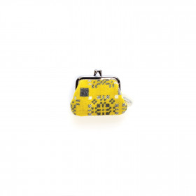 Knot Garden Single purse Gorse
