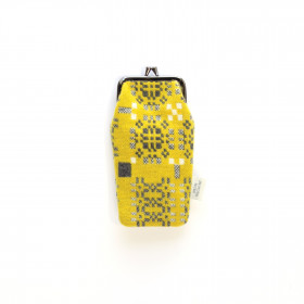 Knot Garden Spectacle Case Gorse