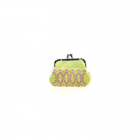 Knot Garden Single purse Green