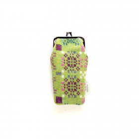 Knot Garden Spectacle Case Green