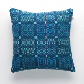Knot-Garden Cushion Lagoon