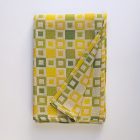 Madison throw & blankets Daffodil