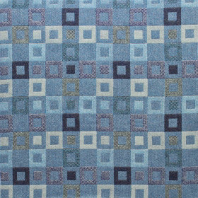 Madison fabric 205cm Lagoon