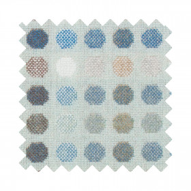 Mondo Sample Swatch Aqua