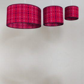 Mondo Circular lampshade Red Berry