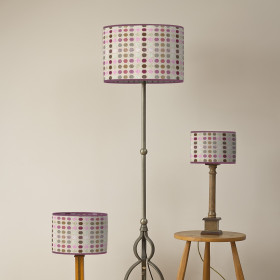 Mondo Oval lampshade Rose