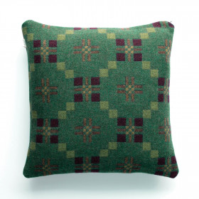 St Davids Cross Cushion Pine