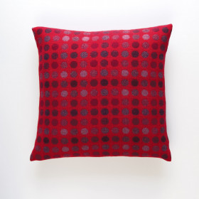 Mondo Cushion Red Berry