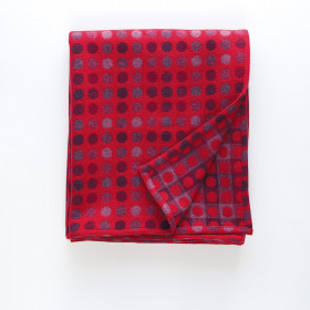 Mondo throw & blankets Red Berry