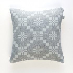 St Davids Cross Cushion Silver