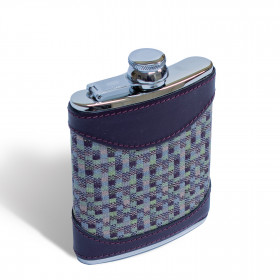 Speckle Hip flask 6oz Earth