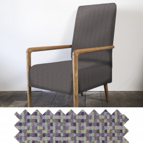 Speckle High back chair Earth