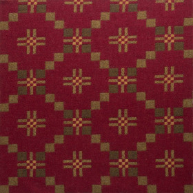 St Davids Cross fabric 270cm Chestnut