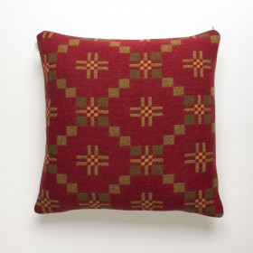St Davids Cross Cushion Chestnut