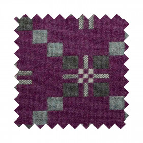 St Davids Cross Sample Swatch Sloe