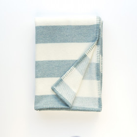 Broadstripe throw & blankets Topaz